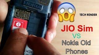 OMG Jio Sim On Nokia Old Phones   Shocking Result   Experiment   Tech Render  