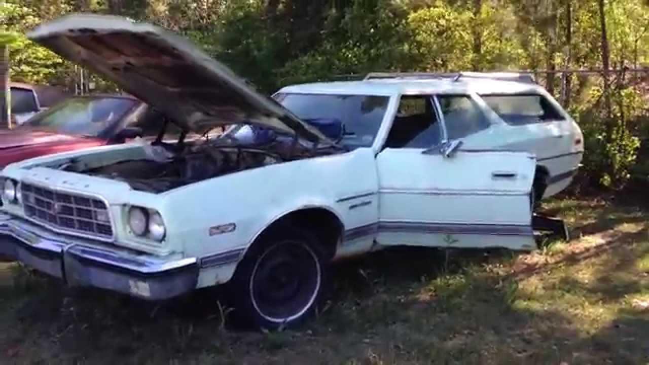 1973 Ford Gran Torino Station Wagon Short Tour - YouTube