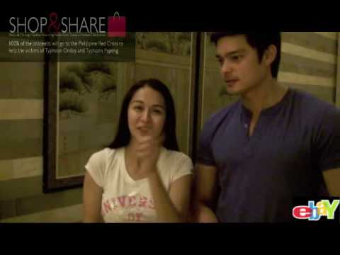 Marian Rivera & Dingdong Dantes for Shop & Share.