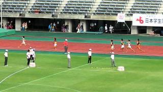 2011日本学生陸上 男子4x400mR予選1.AVI