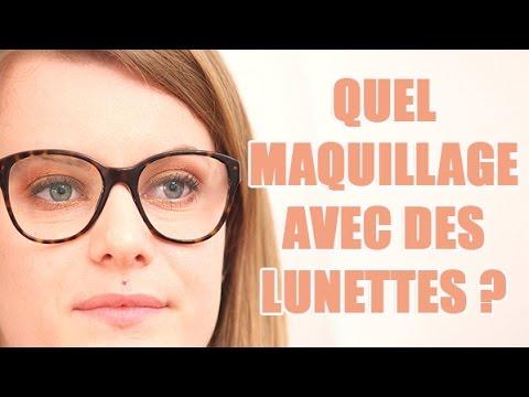 Comment Se Maquiller Les Yeux En Portant Des Lunettes Youtube
