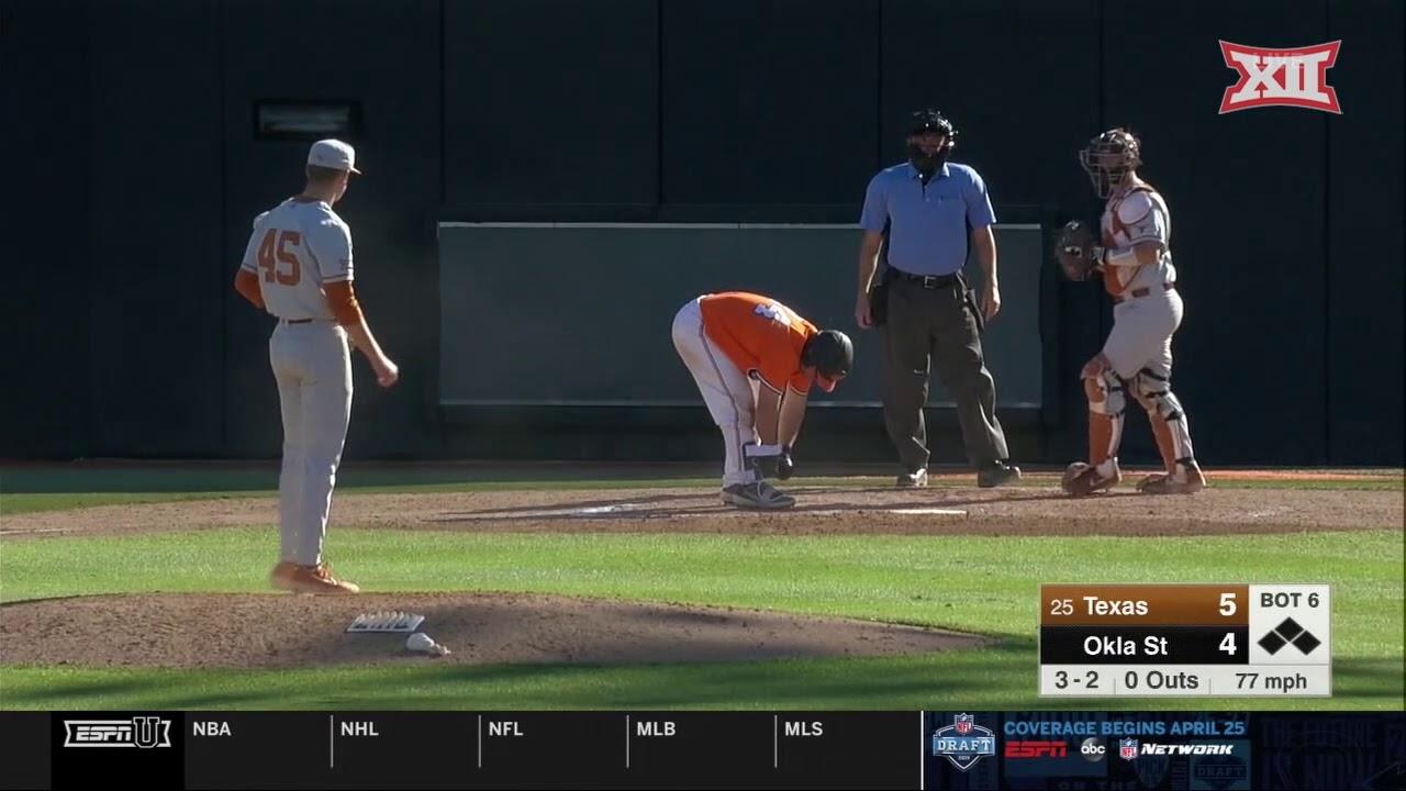 Texas at Oklahoma State Baseball Highlights - Game 3 - YouTube