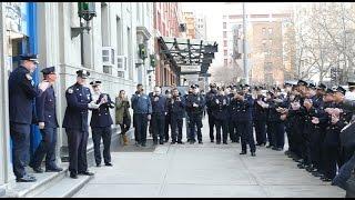"""""""Ceremonial Walkout"""" at First Precinct"""