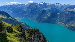 Fronalpstock / Stoos - Switzerland - Drone Footage in 4K / UHD