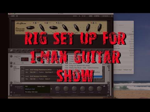 Setup for Solo Gig - Backing Tracks and Rig