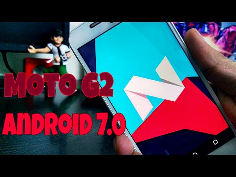 Moto G 2nd Gen: How to Install Android Nougat 7.0 (Cyanogenmod 14)