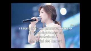 closer by kim taeyeon to the beautiful you ost with lyrics