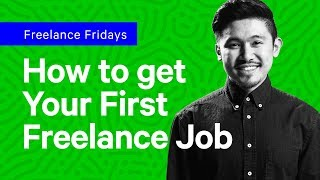 How do you get Your First Freelance Design Job?