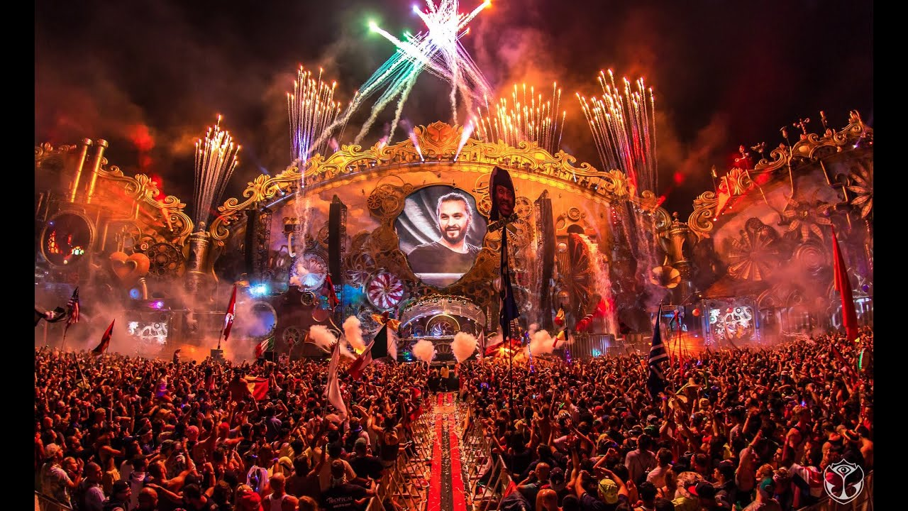 Tomorrow World Party Scene