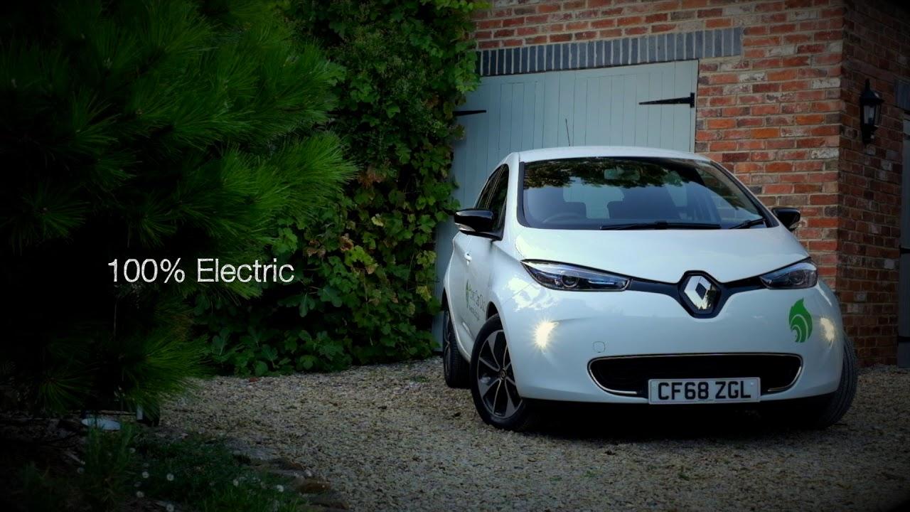 Hooky Car Club | Your New Renault Zoe | Hook Norton Low Carbon