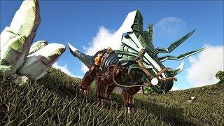 Ark Coop Map Crystal #23: Siêu robot trike cực mạnh