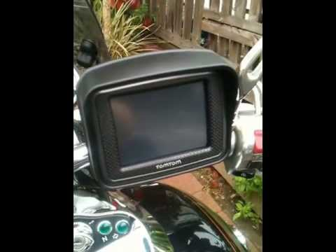 tomtom rider installation to switched circuit on motorbike vn1500