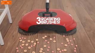 Tornado Spin Broom Floor Roto Sweeper