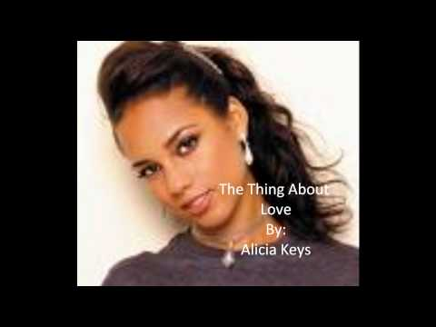 The Thing About Love-Alicia Keys