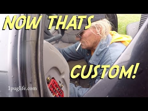 in cab air pressure gauge install
