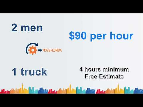 Move Florida | 813-803-5676 | Best Rated Movers | Pinellas Park FL |  Free Estimate