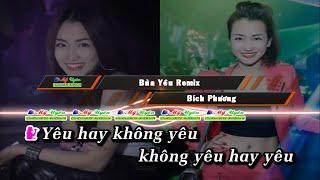 Karaoke | Bùa Yêu (Remix) (#KBYR) - Bích Phương & Vũ Kem