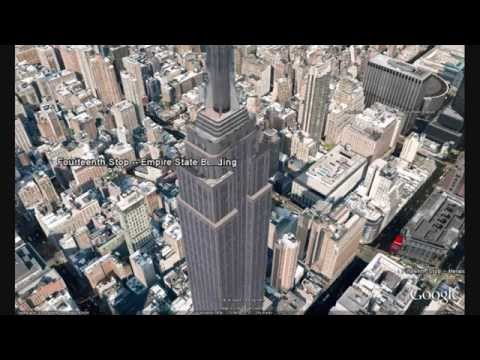 Travel Guide to New York with Google Earth