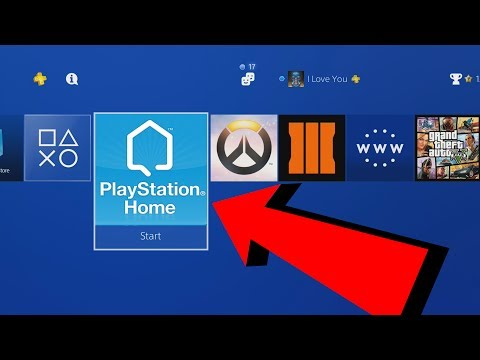 PLAYING PS HOME ON PS4!