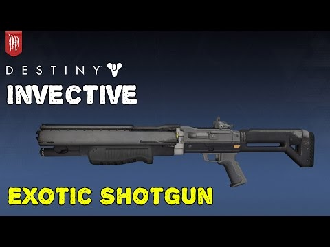 how to get invective destiny