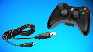 HOW TO MAKE A XBOX 360 CONTROLLER WIRED / HOW TO CHARGE