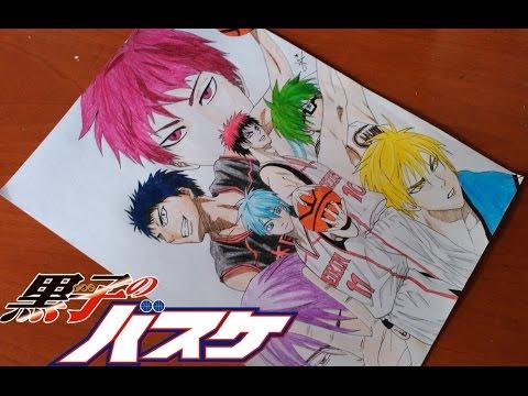 DRAWING KUROKO NO BASKET | Drawings Eva