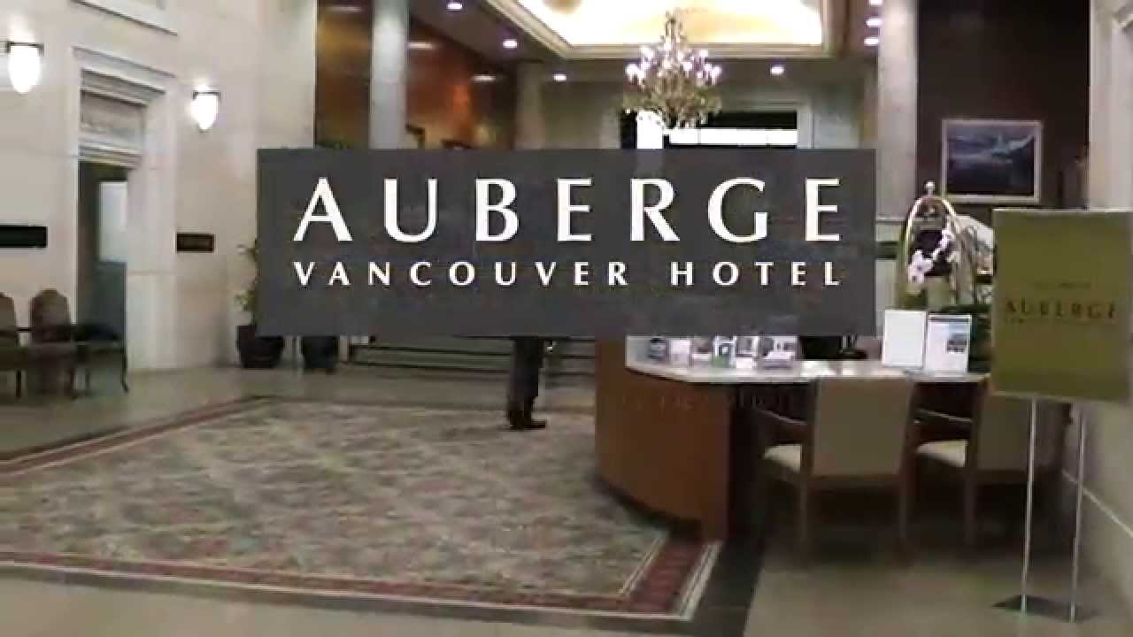 auberge vancouver downtown luxury hotel youtube. Black Bedroom Furniture Sets. Home Design Ideas