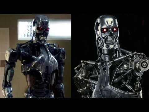 Terminator, T-800, T-850, and T-888 Comparison - YouTube
