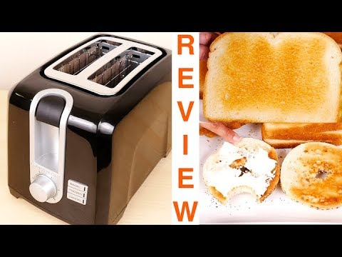 BLACK+DECKER 2-Slice Extra Wide Slot Toaster Review