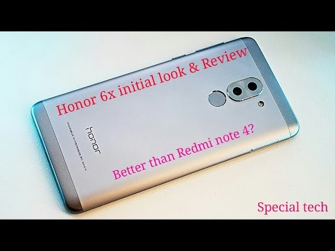 Huawei Honor 6x Initial Look and Review. Is it Better than Redmi Note 4?
