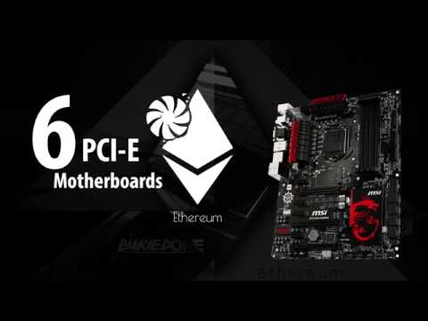 Best 6PCI-E Motherboards For Mining Rigs.