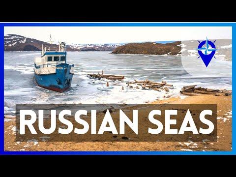 7 SMALLEST RUSSIAN SEAS || AZOV || BALTIC || WHITE || PECHORA || CASPIAN || CHUKCHI || BLACK