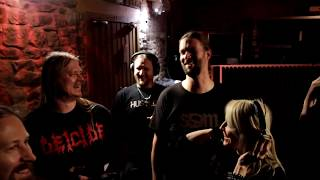amon amarth recording a dream that cannot be feat doro