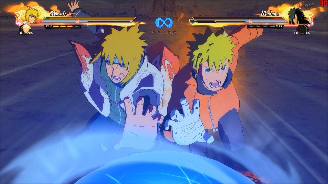 Naruto Ultimate Ninja Storm 4 PC MOD - Edo Minato Moveset Mod Gameplay