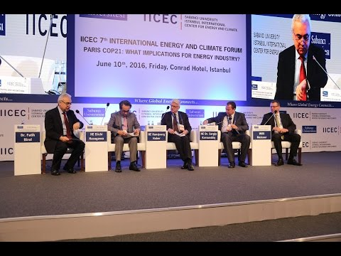 IICEC 7th International Energy and Climate Forum - Panel I