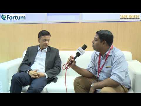 Interview With Manoj Gupta VP Solar Business, Fortum India Pvt Ltd
