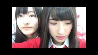 同じメンバーです、、生放送待つ中。 かとみな連発!part3! NGT48のス...