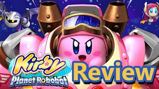 Kirby Planet Robobot Review (Video Game Video Review)