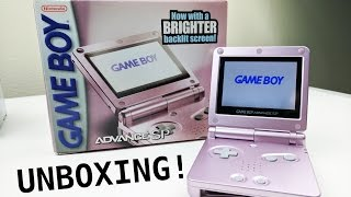 Unboxing Gameboy Advance Sp Ags