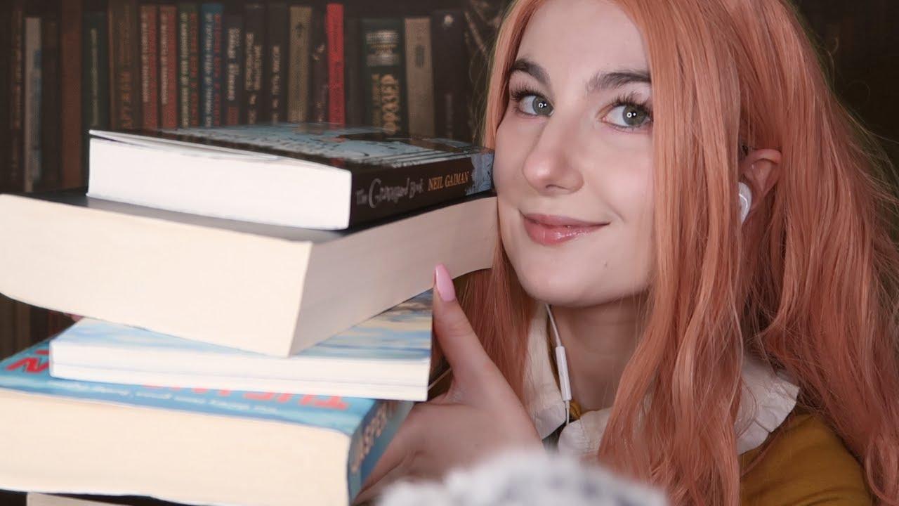 ASMR- Used Book Store Role Play (BINAURAL!) - YouTube