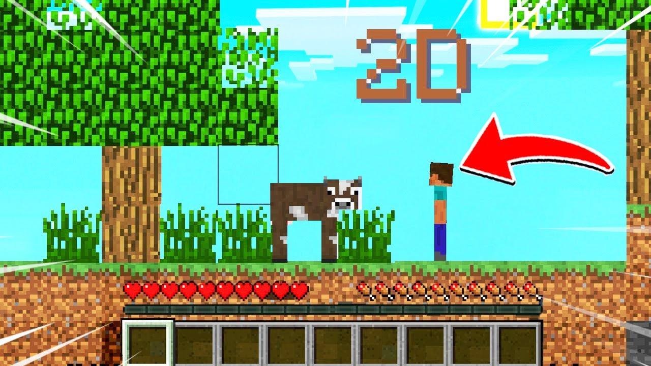 """🔥โครตโหด!!【""""จะเป็นไง? ถ้ามายคราฟกลายเป็นเกม 2D!!""""】  (Minecraft Webgame)"""