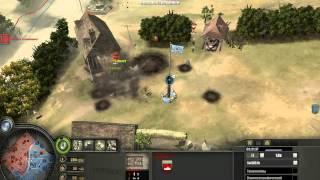 Company Of Heroes видео с комментариями выпуск 12