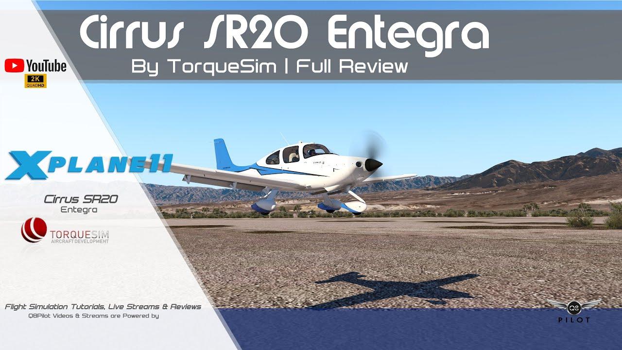 TorqueSim SR20 Entegra | Full Review | X-Plane 11 - YouTube