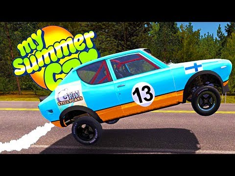 MY SUMMER NITROUS OXIDE SYSTEM! INSTALLING THE NOS! - My Summer Car Gameplay Highlights Ep 84