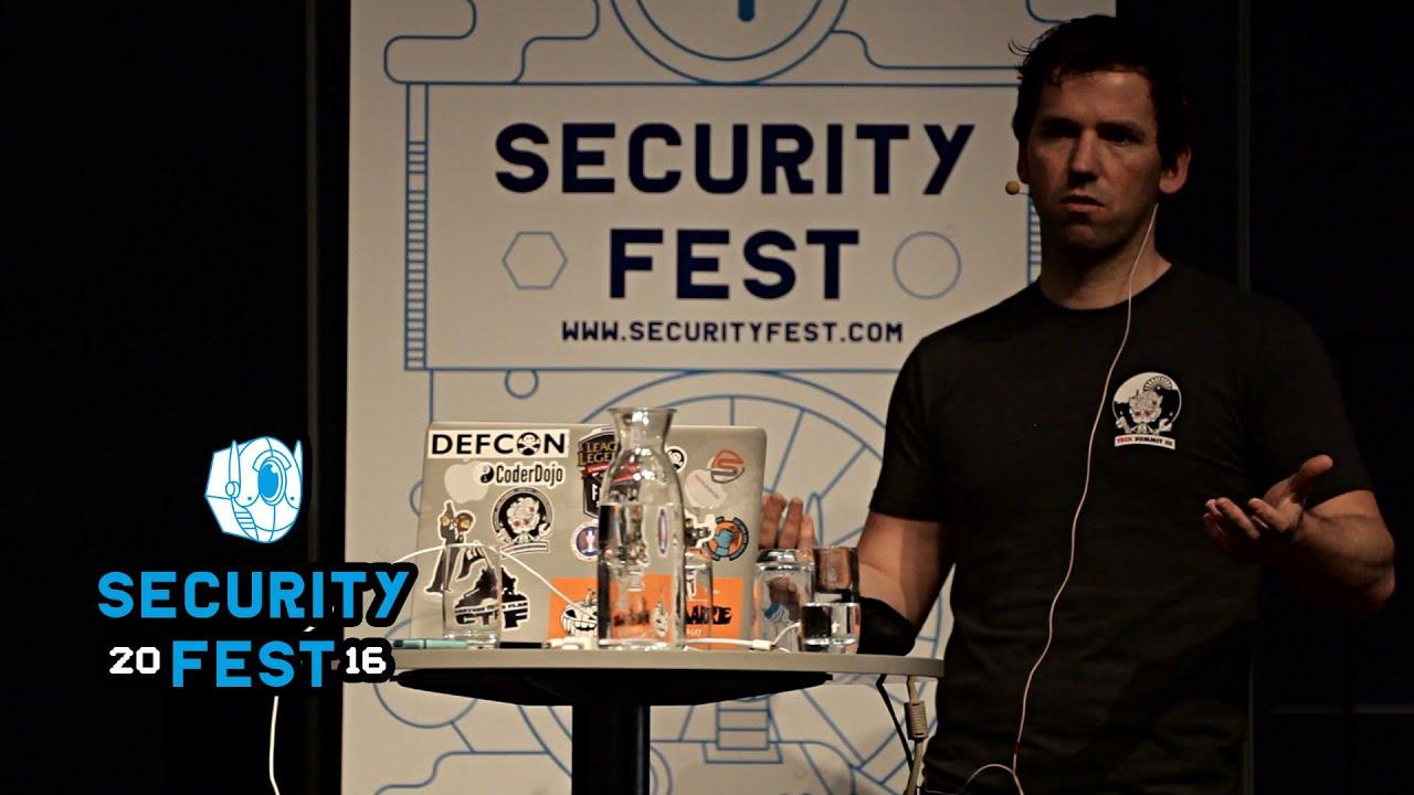 Feedback Security - Mark Hillick, Riot Games - Security Fest 2016