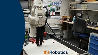 Adaptive Robotic Gripper. Grasping of blueberries