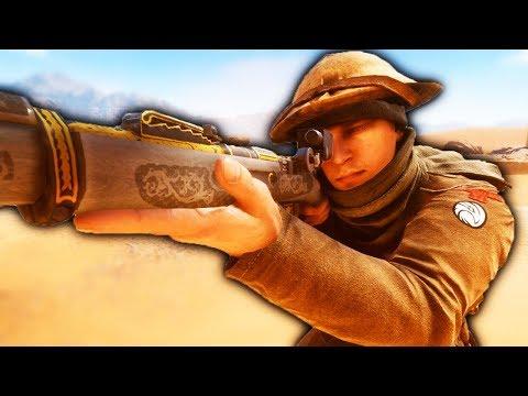 BATTLEFIELD 1 Epic Sniper Highlights Road to Battlefield V Gameplay thumbnail