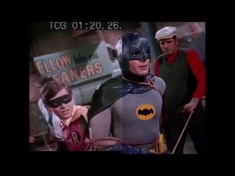 Batman 66 HD Remaster Comparison!