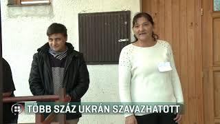 Több száz ukrán szavazhatott Kispaládon 19-10-14
