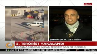 Çatışma sonrası kaçan terörist sağ ele geçirildi
